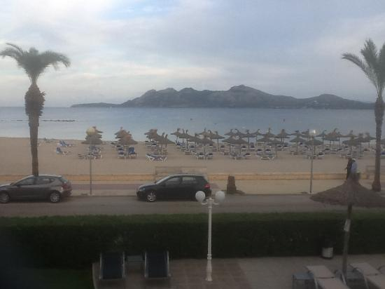 Apartamentos Bellamar: View from room 16 1st floor sun practically all day on terrace