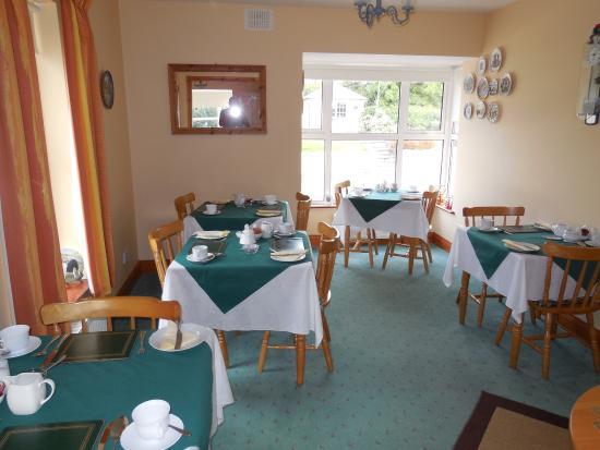 Ashfield Bed & Breakfast: Breakfast room
