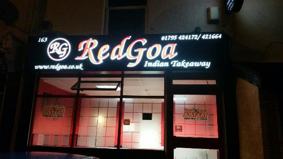 Red Goa Indian Takeaway