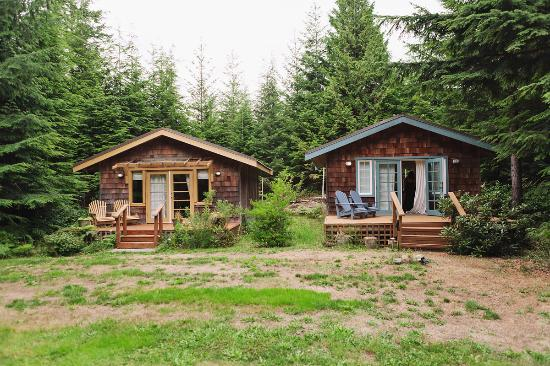 Ardtara Luxury Cottages: modern and cozy - side by side