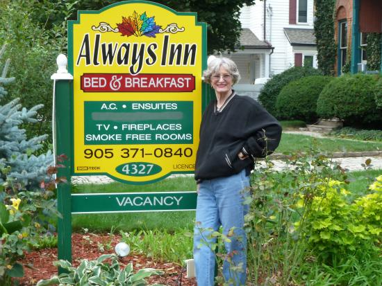 Always Inn Bed & Breakfast: In Front of Home