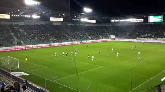 AFG Arena: FC St. Gallen - FC Thun