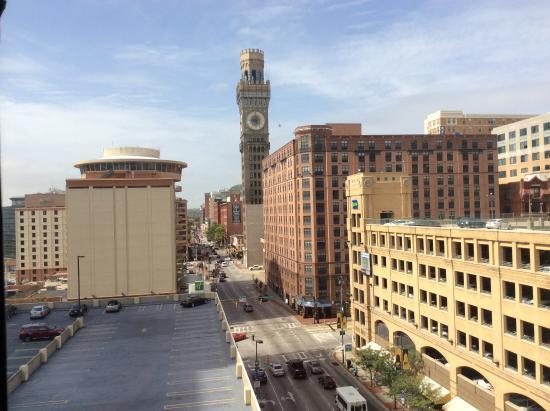 Days Inn Baltimore Inner Harbor : View from our 9th floor room
