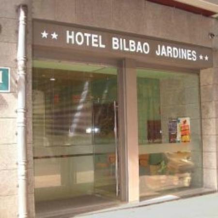 Bilbao Jardines Hotel: Наш jardines в Бильбао ( сентябрт 2015)