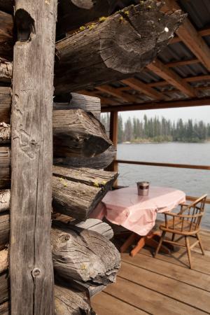 Oyama, Kanada: Ice house cabin