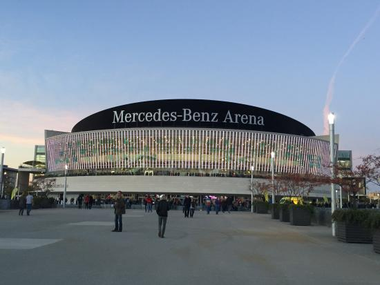 picture of mercedes benz arena berlin berlin tripadvisor. Black Bedroom Furniture Sets. Home Design Ideas
