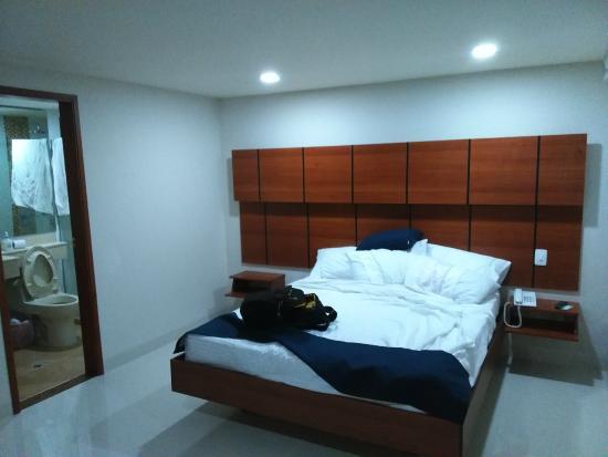 MS Alto Prado Superior: la cama esta bastante bien.