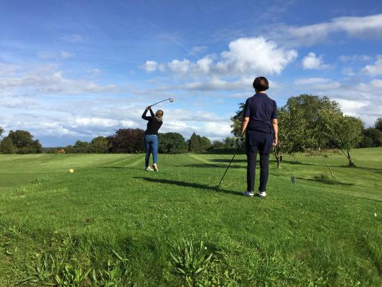 Riversdown House: A round of Golf