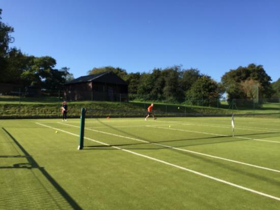 Riversdown House: A match of Tennis