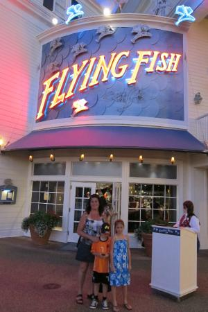 Boardwalk entrance picture of flying fish orlando for Fish restaurant orlando