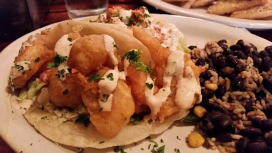 Beer Battered Shrimp And Mahi Mahi Tacos Picture Of Cabo Fish Taco