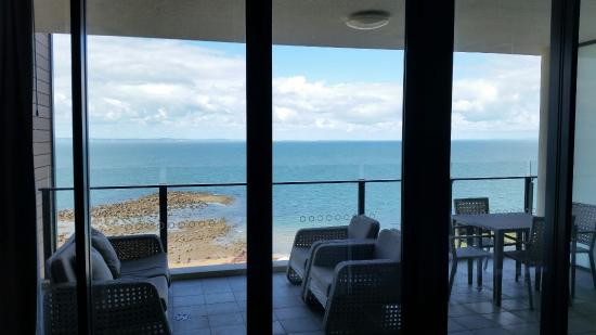 Oaks Redcliffe Mon Komo Suites: The view