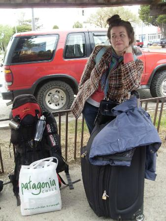 Patagonia Aventura: frente al hostel