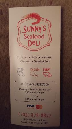 Sunny's Seafood and Deli