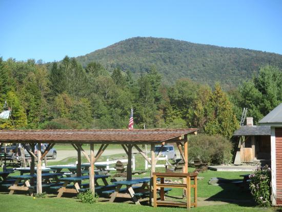 Lareau Farm  Inn: View from Lareau Farm