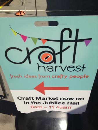 Parnell Farmers' Market: craft market