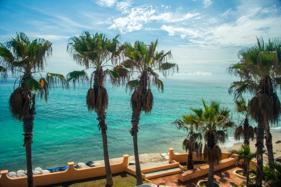 view from patio of villa del mar picture of cabo pulmo beach resort cabo pulmo tripadvisor. Black Bedroom Furniture Sets. Home Design Ideas