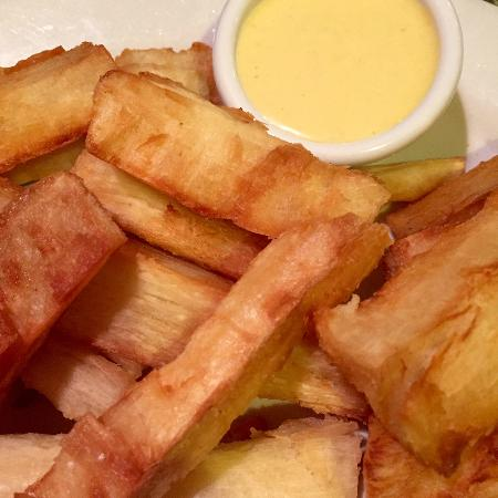 Aguaymaynto Grill: Fried Yuca
