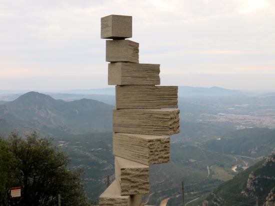 Montserrate, Espanha: View from Monserrat
