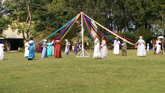 Abbey Museum of Art and Archaeology: Picnic at Pemberley - the Maypole dance