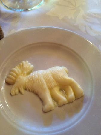 Jenny Lake Lodge Dining Room: Butter In The Shape Of A Moose.. Cute Part 60