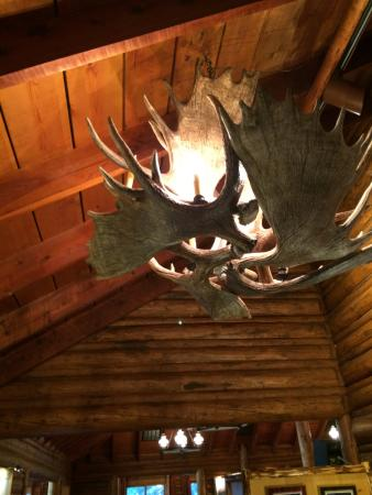 Jenny Lake Lodge Dining Room: Loved The Rustic Chandelier Part 37