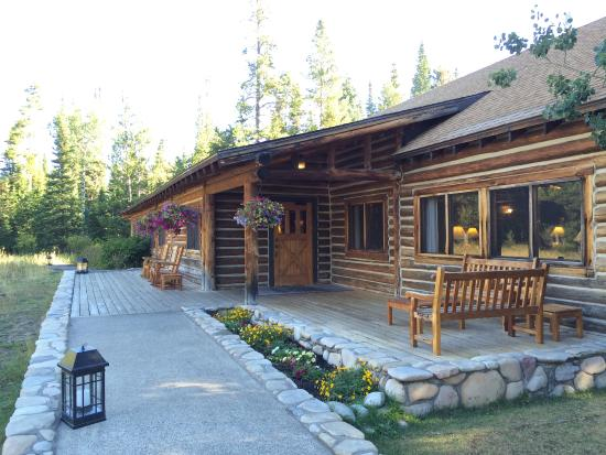 Jenny Lake Lodge Dining Room: The Porch! We Saw Several Mule Deer In Front Part 11