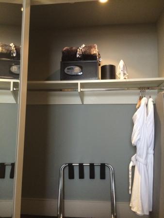 St. Regis Hotel: St Regis rooms have good closets, robes & in-room safe