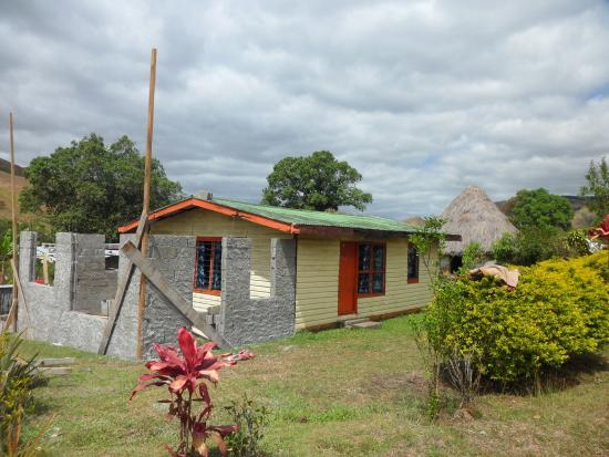 Navala, Fiji: new part of the village