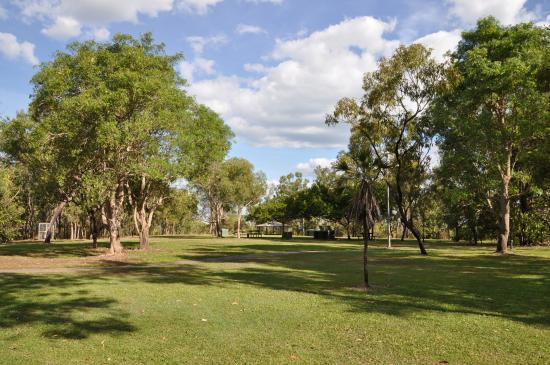 Charles Darwin National Park : The picnic area