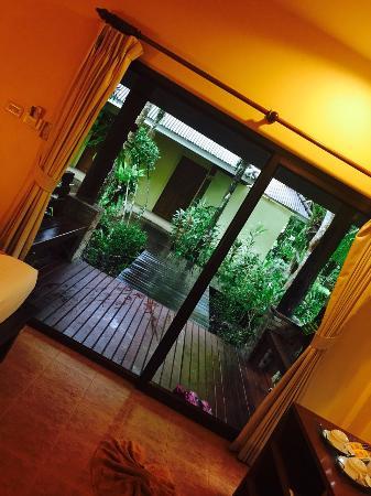 Sunda Resort: View from inside