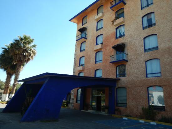 Hotel Plaza Zacatecas: Vista por fuera de este hotel