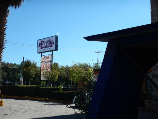 Hotel Plaza Zacatecas: Logotipo de este hotelillo