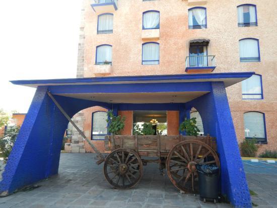 Hotel Plaza Zacatecas: Vista frontal de este hotel