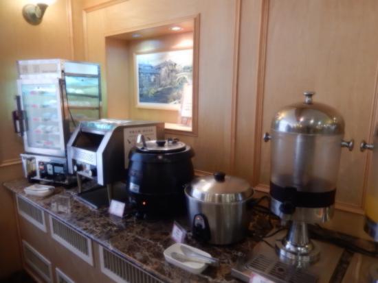 Hotel New Image: 飲み物があります