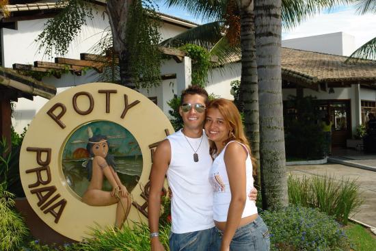 Poty Praia Hotel : Entrada do hotel!