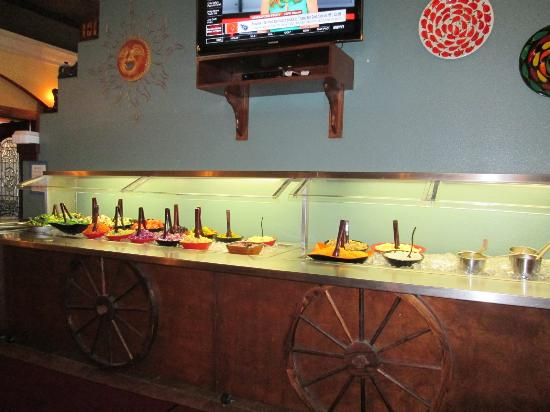 Los Cabos Mexican Grill & Steak House: Salad Bar