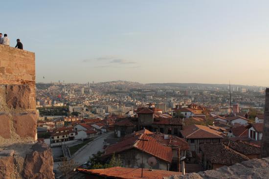 Дома у крепости - Foto de Ankara Castle, Ankara - TripAdvisor