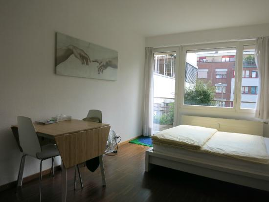 Apartments Hasenberg : Apts Hasenberg, Basel: Studio Apt.