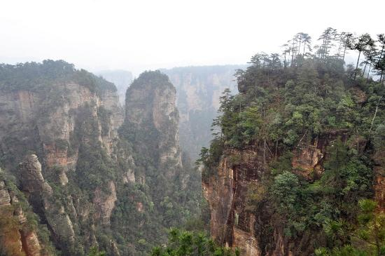 Zhangjiajie Tianbofu Scenic Resort: Парк Аватар
