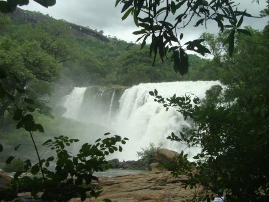 Marayur, الهند: Thoovanam falls Marayoor