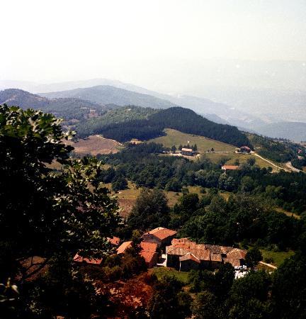 La Verna, Italia: una vista dal Santuario