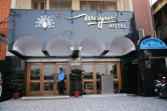 Mayur Hotel : Front