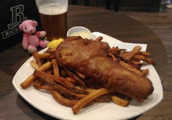Olde Dublin Pub: Fish & Chips