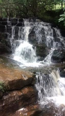 waterfall in Keld