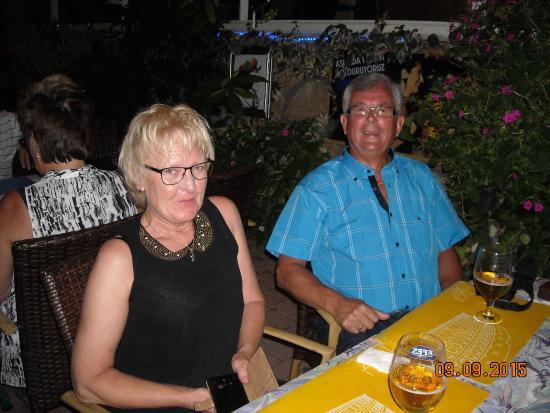 Sunway Hotel : Eva og Børje