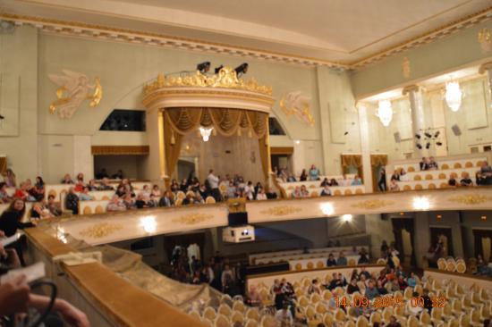 Театр музыкальной комедии схема