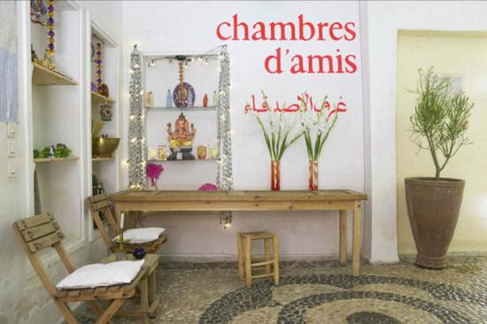 chambres d 39 amis b b marrakech maroc tarifs 2018 voir. Black Bedroom Furniture Sets. Home Design Ideas