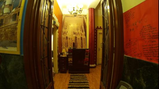 Miami Cairo Hostel: Ресепшен