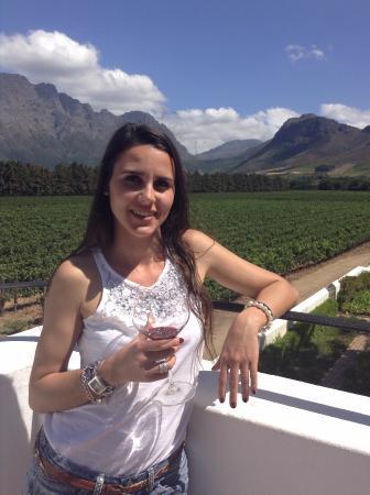 Franschhoek Wine Tram: Views of winery